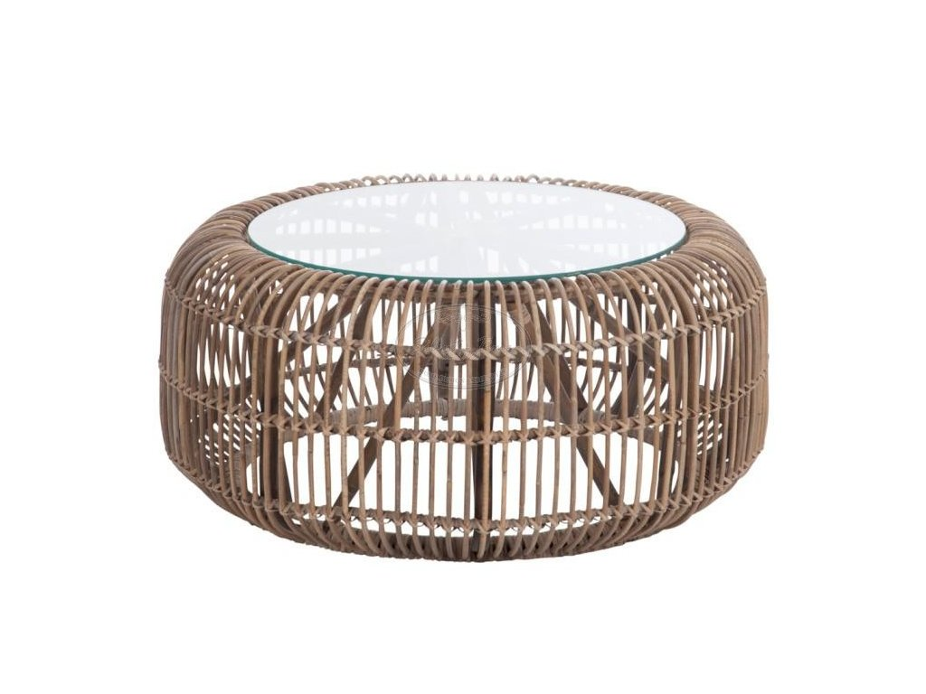 Ratanový stolek ROUNDY MAX