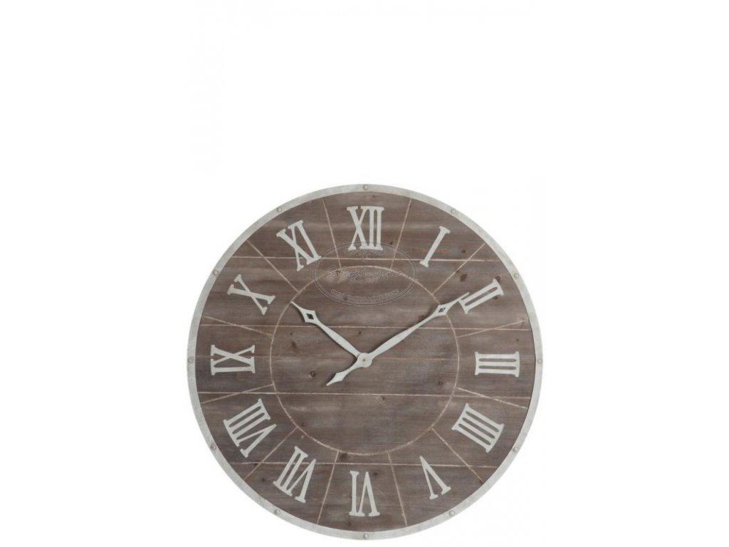 Dřevěné hodiny ANTIK ROM