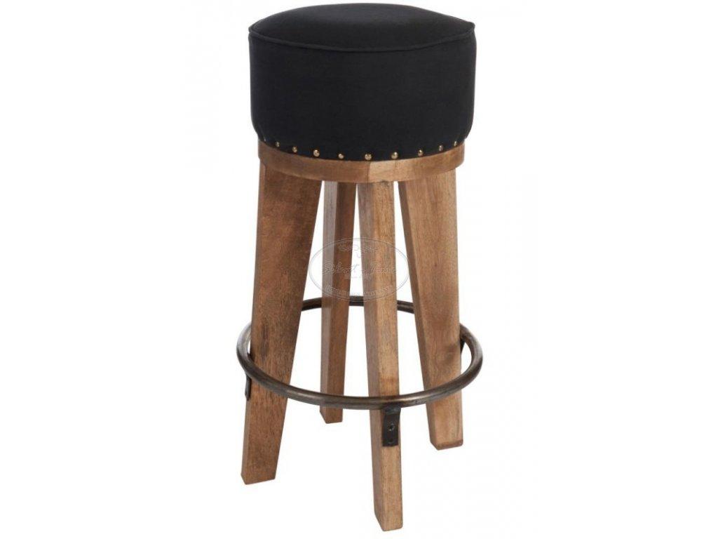 Barová židle WOOD