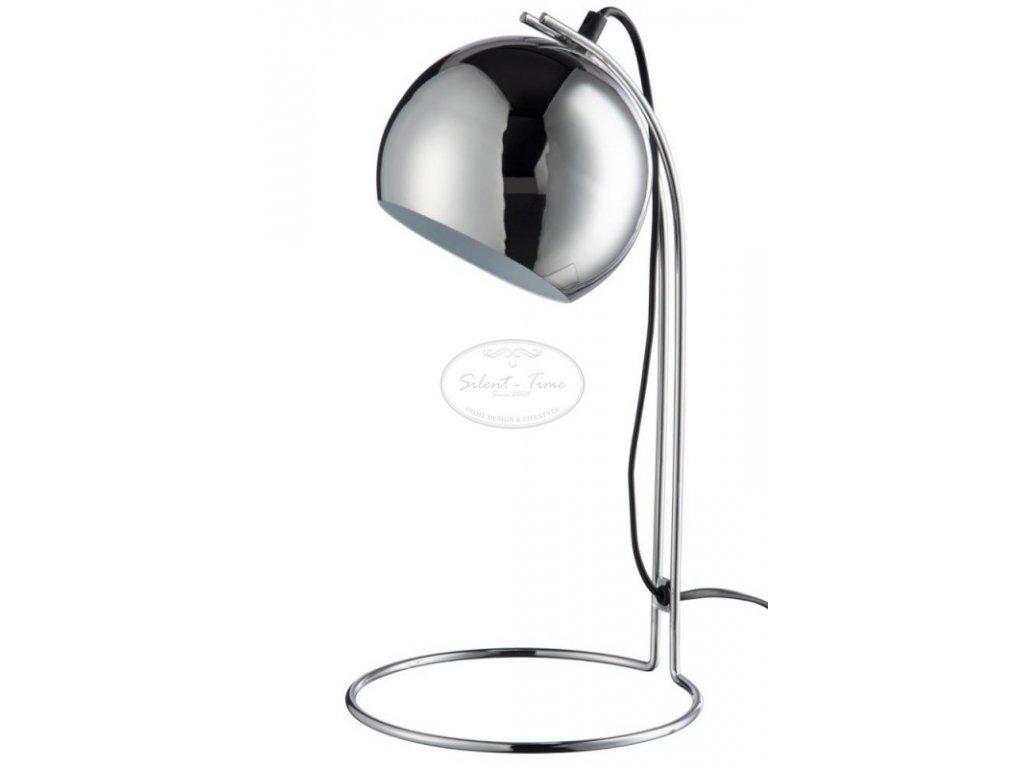Skleněná lampa SILVER M