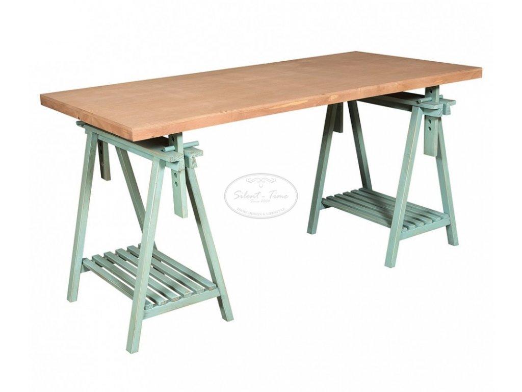 Dřevěný stůl BLUE DAY
