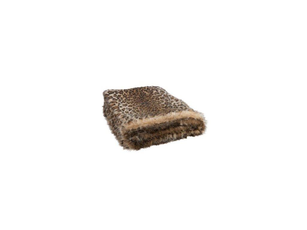 Deka FAUX FUR leopard