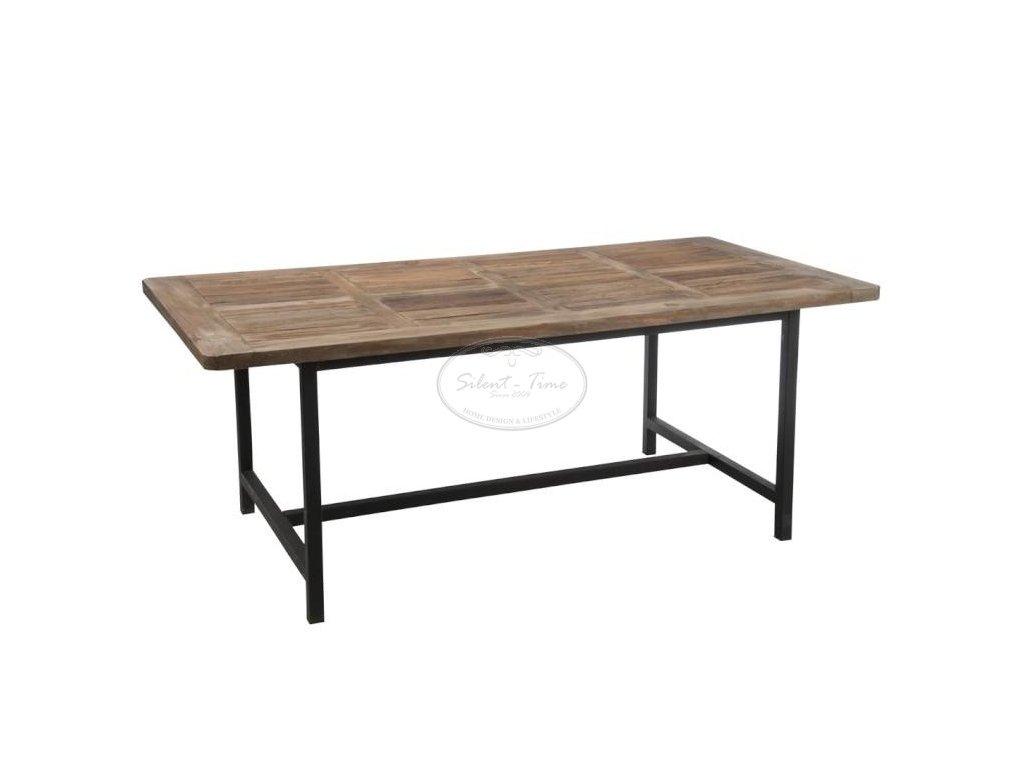 Industriální jídelní stůl LOFT 56