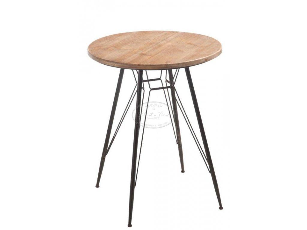 Kulatý stolek BISTRO LUISA