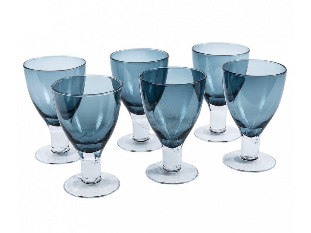 Modrá sklenice LA INDIGO 3