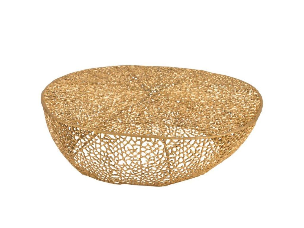 Konferenční stolek - GOLD CHIC