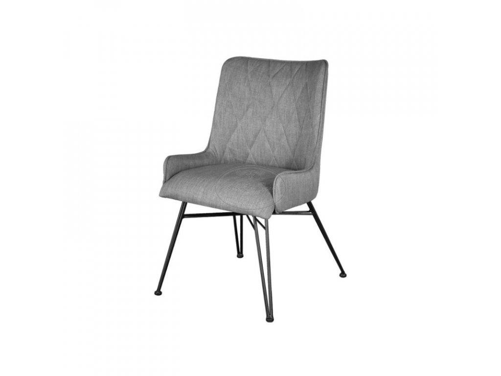 Polstrovaná židle ADESSO D03B