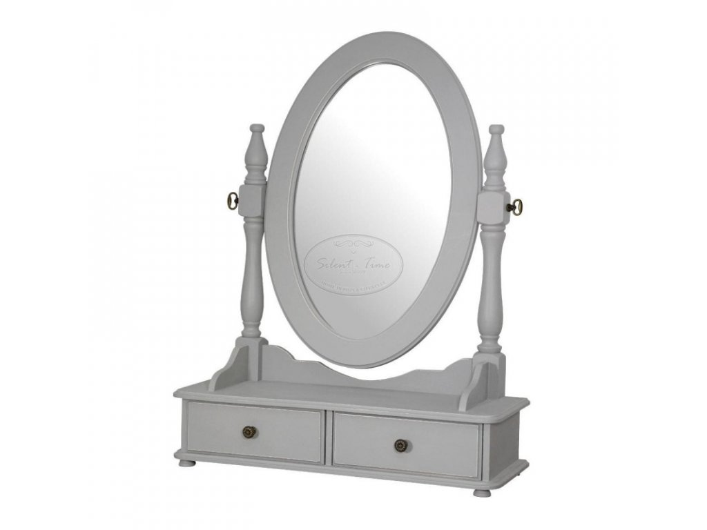 Dřevěné zrcadlo toaletkové CATANIA 060