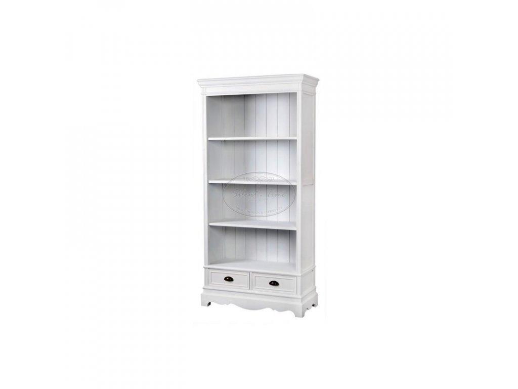 Knihovna bílá LATINA 02