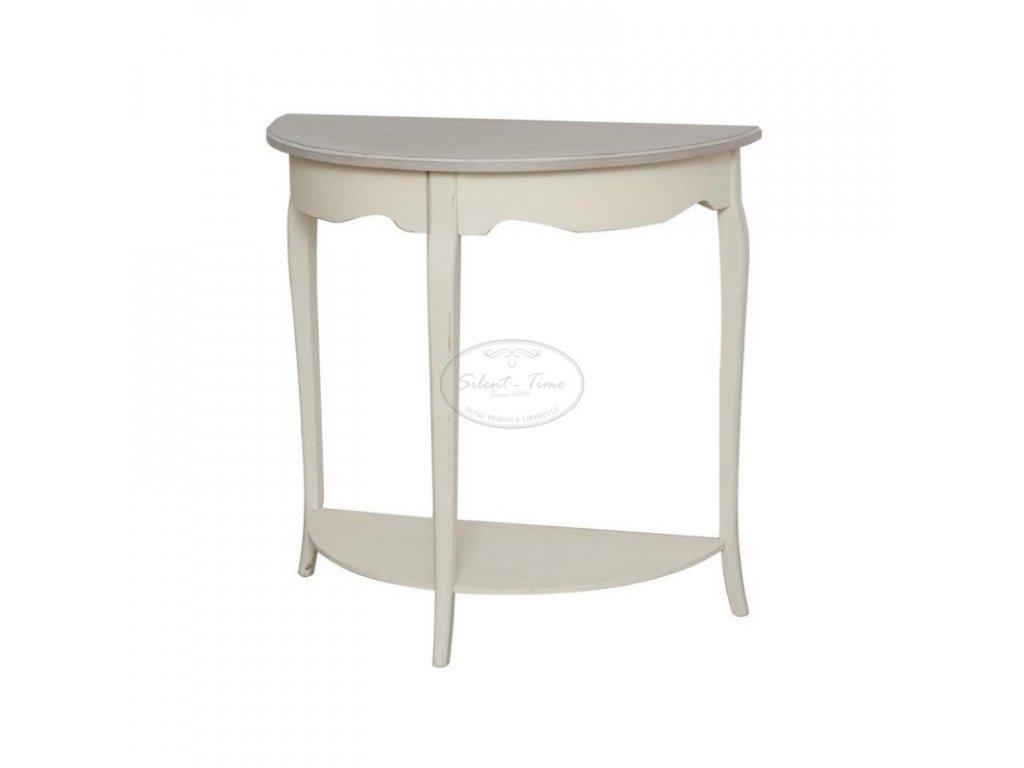 Konzolový stolek půlkulatý PESARO 033