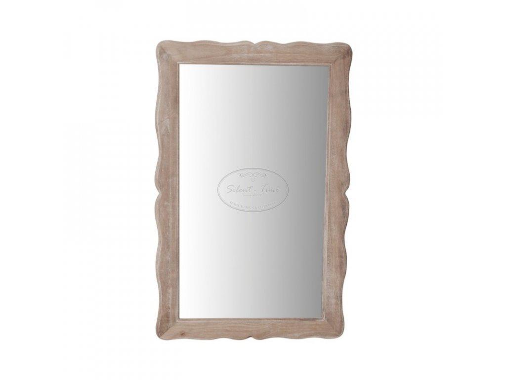 Dřevěné zrcadlo nástěnné PESARO 053