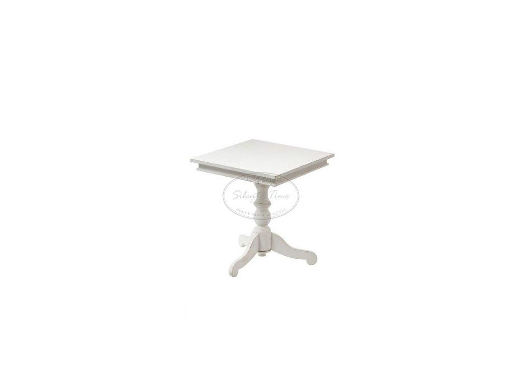 Odkládací stolek KADOM ANTIQUE WHITE