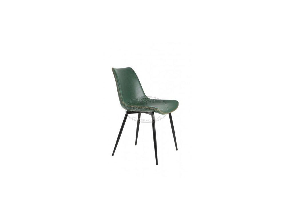 Židle koženka KOVAC GREEN