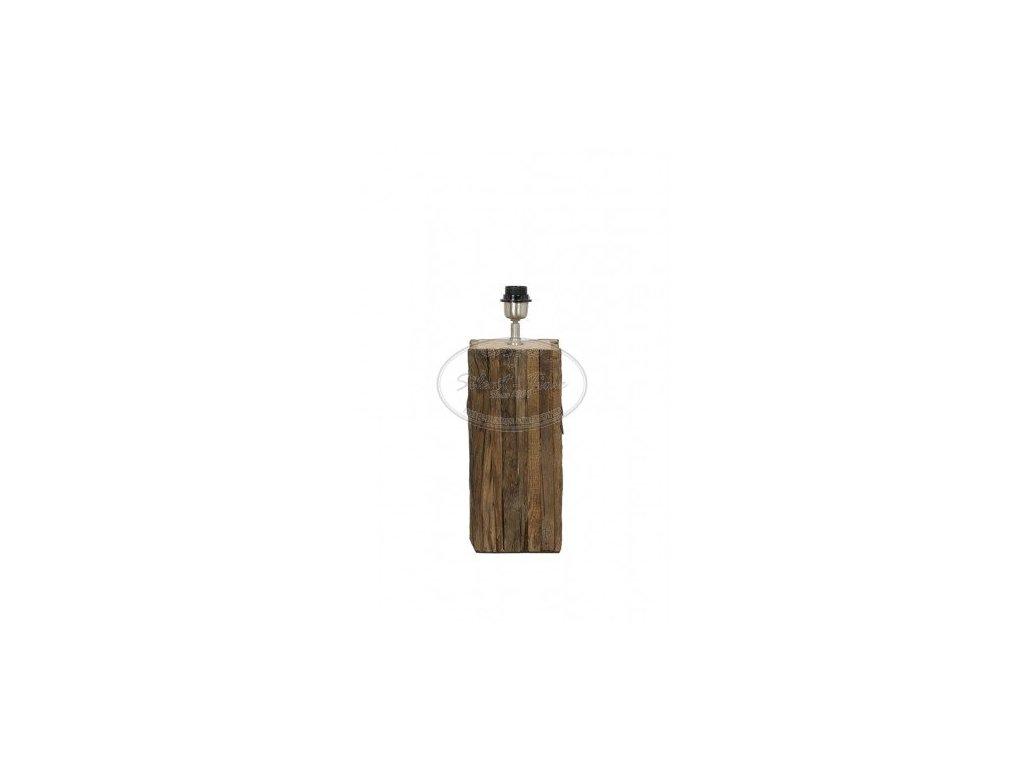 Stolní lampa dřevěná RODEO WOOD