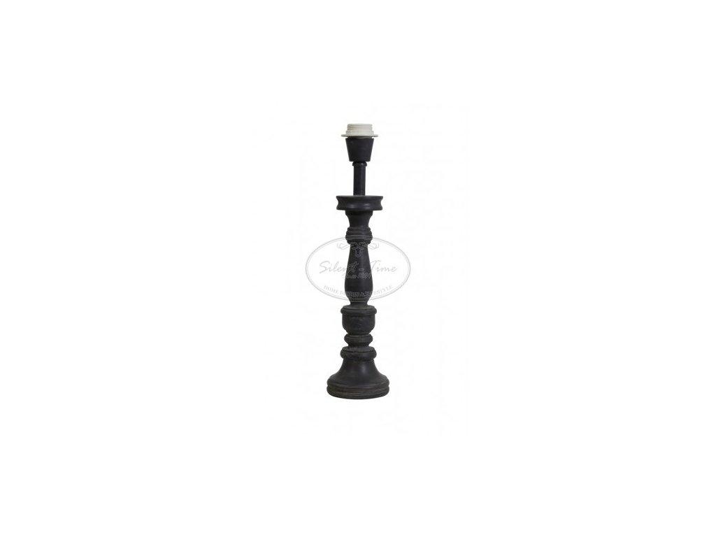 Stolní lampa dřevěná SUTTON