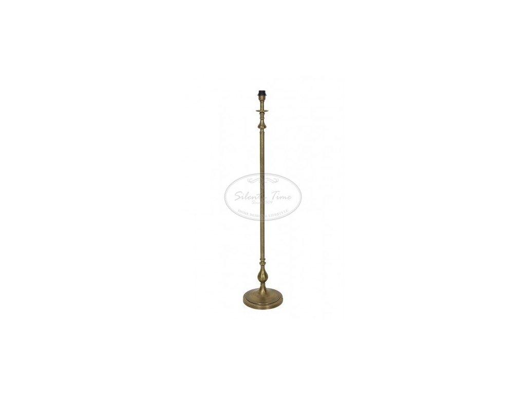 Stojací lampa kovová CEBU RAW ANTIQUE BRONZE