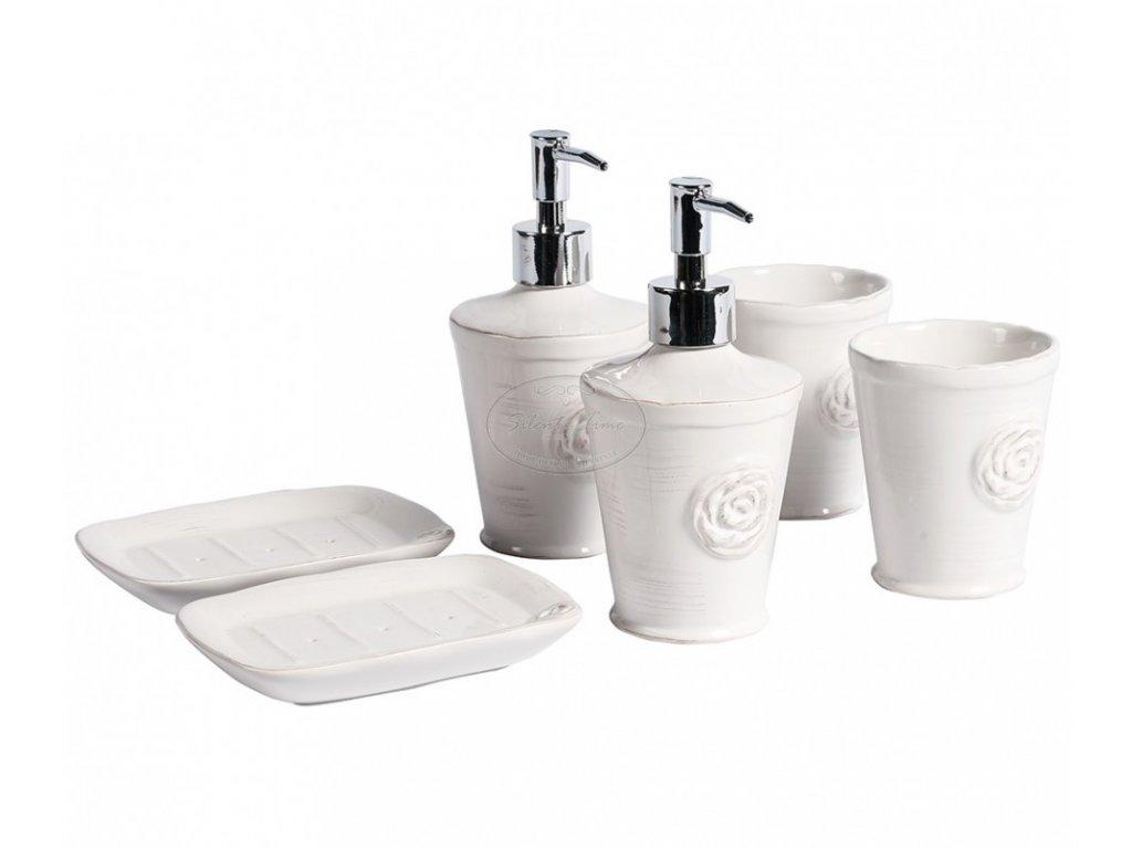 Koupelnový set  SORENTO white