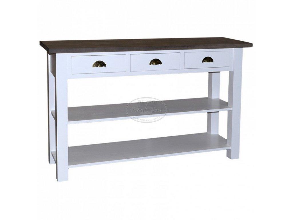 Konzolový stolek dřevěný PS-09