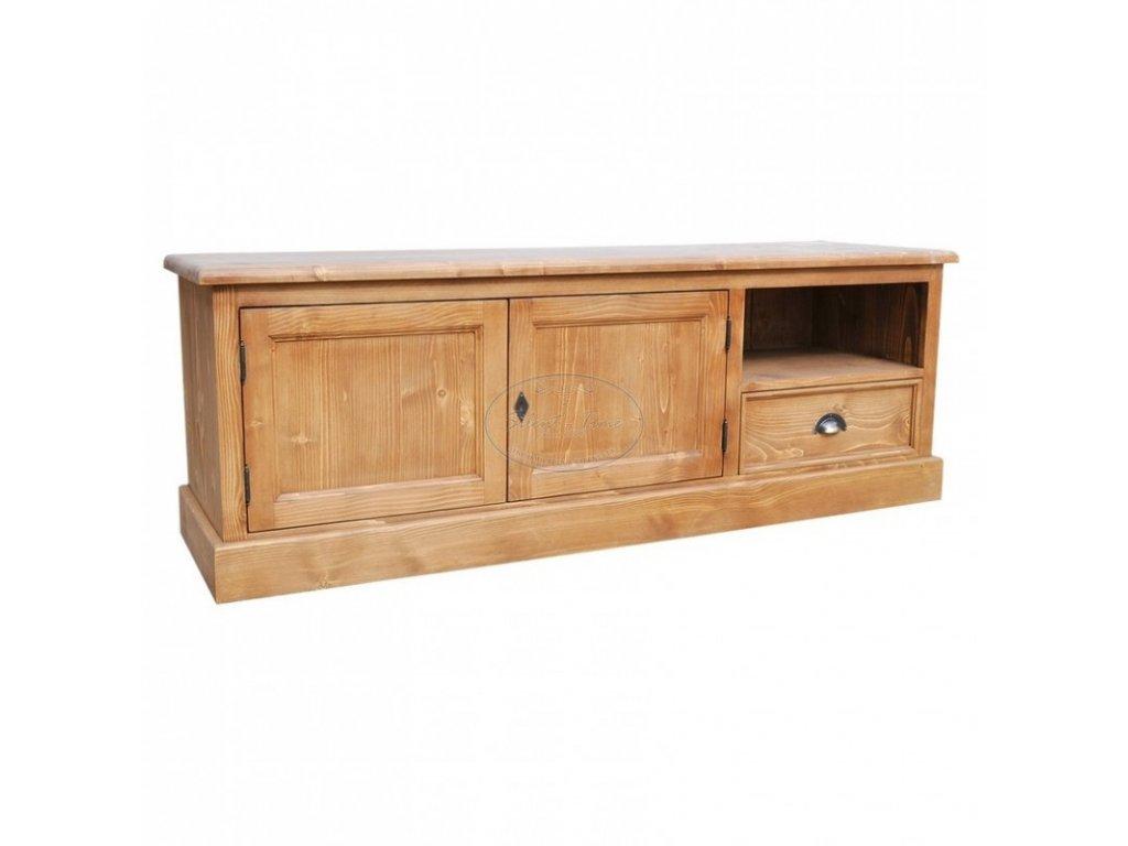 Televizní stolek dřevěný PS-101