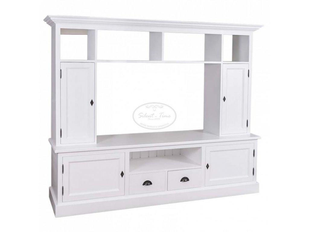 Televizní stěna dřevěná PS-107
