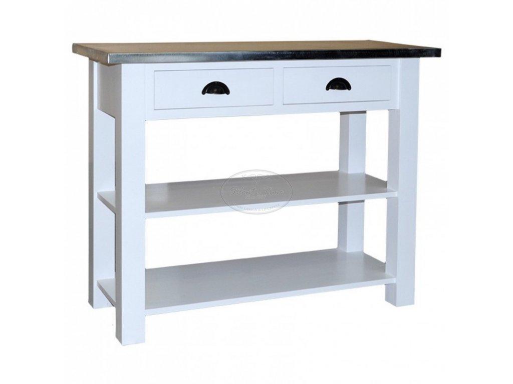 Konzolový stolek dřevěný PS-141