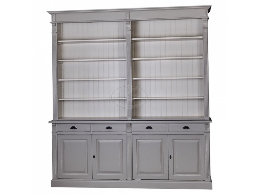 Dřevěná knihovna PS16-294