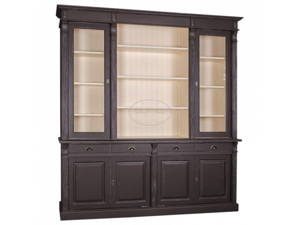 Dřevěná knihovna PS16-57