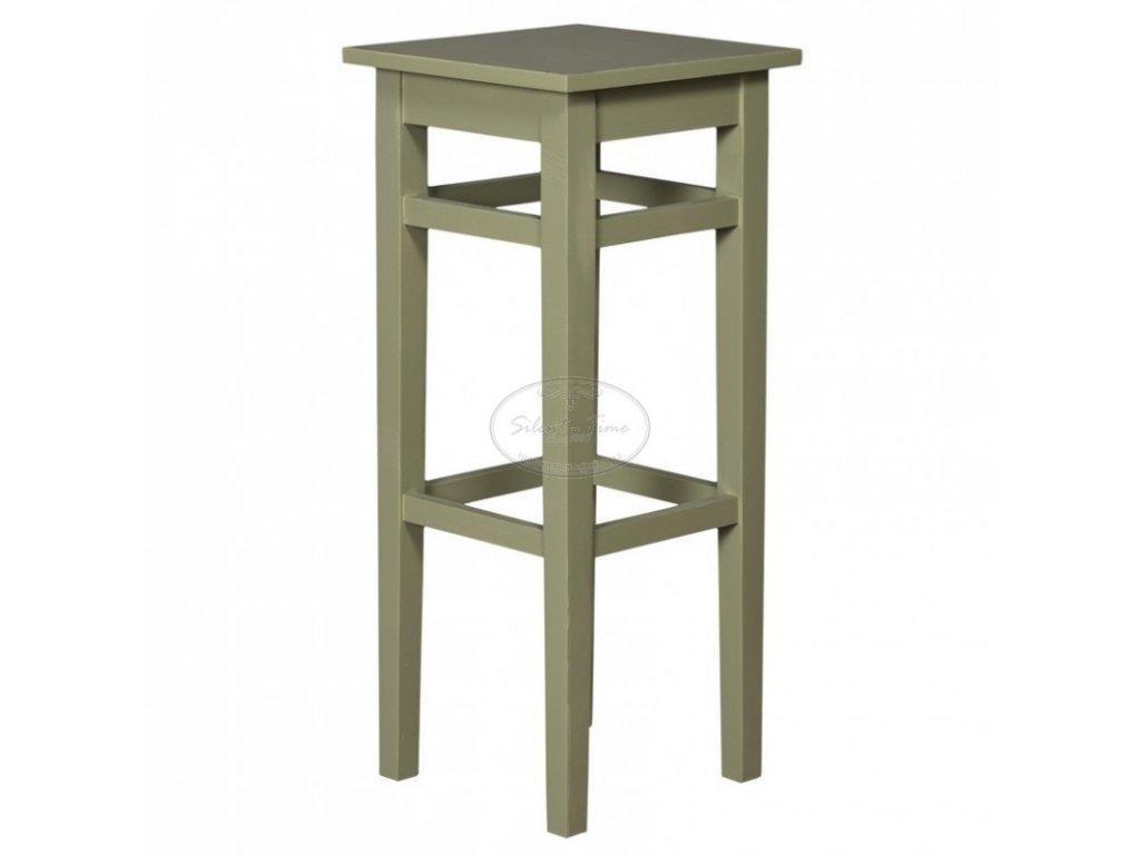 Židle barová dřevěná PS-190