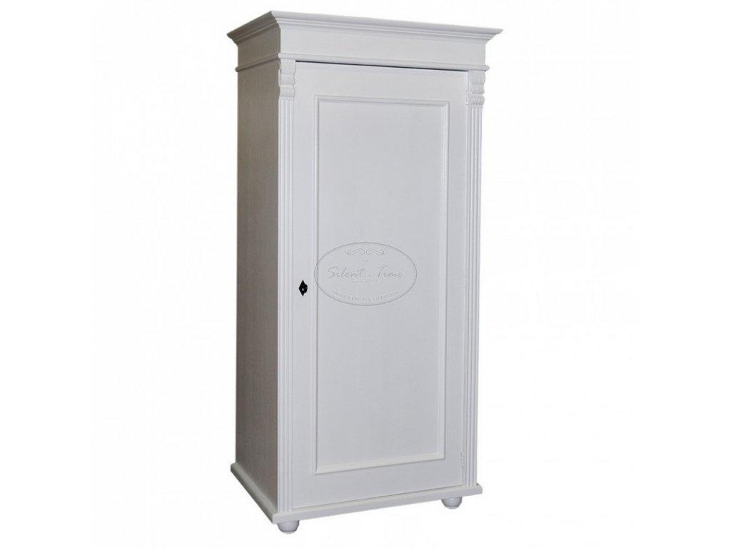 Dřevěná šatní skříň PS-244