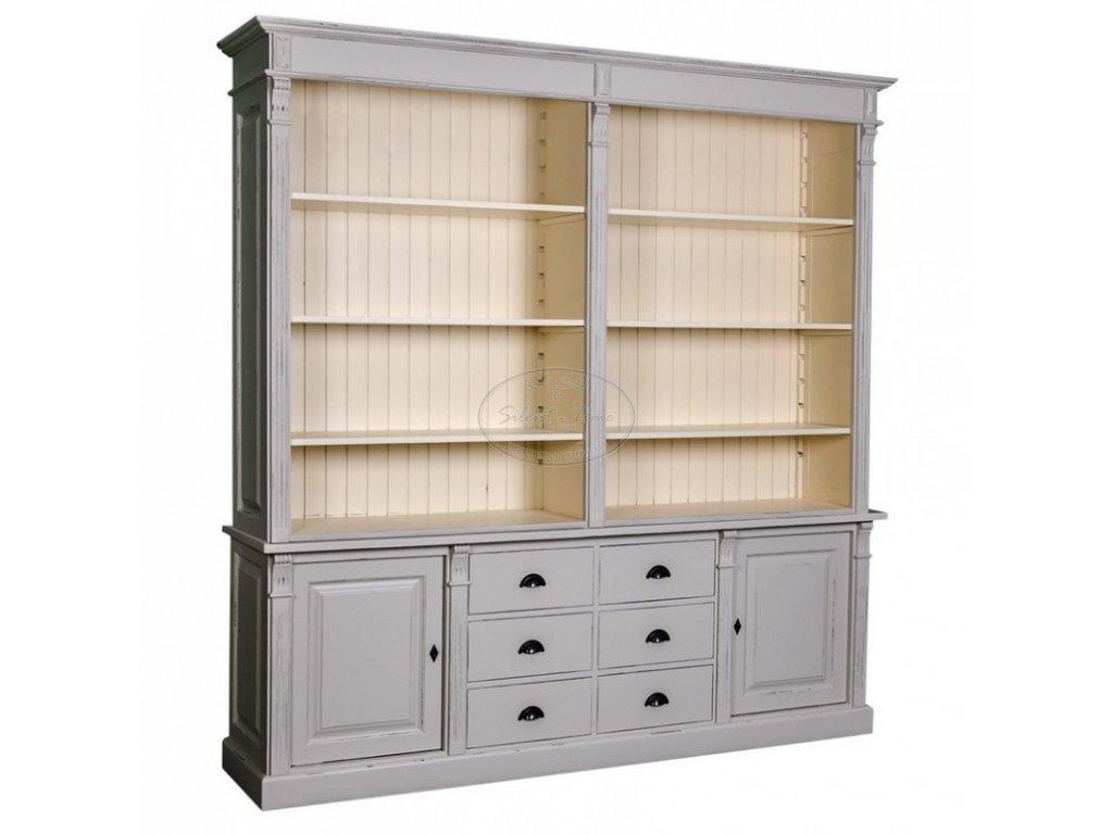 Dřevěná knihovna PS295-294