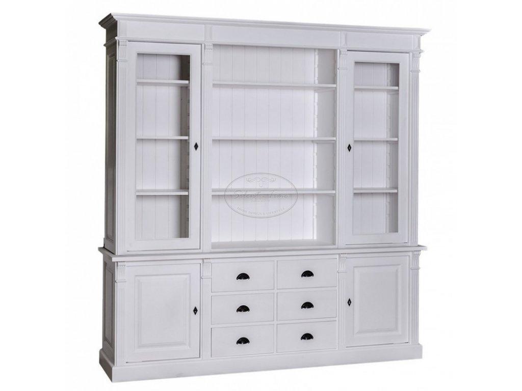 Dřevěná knihovna PS295-57
