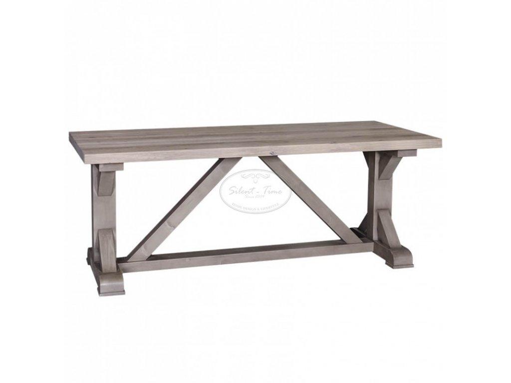 Dřevěný jídelní stůl RUSTIC PS-453