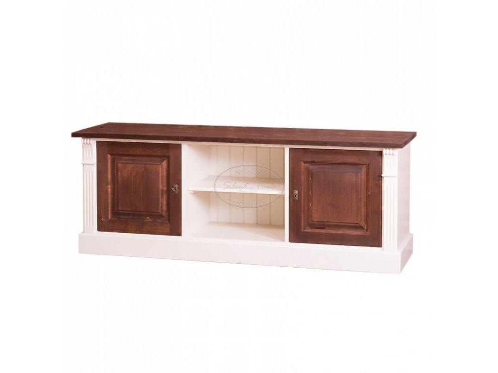 Televizní stolek dřevěný PS-494