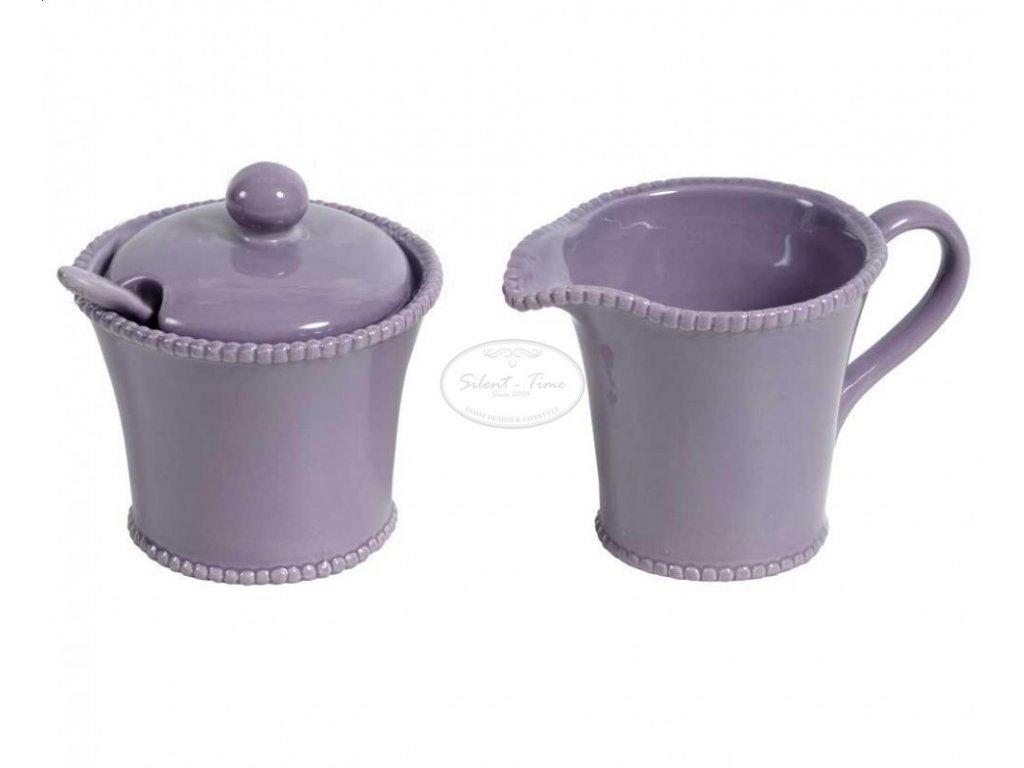 Cukřenka a mlékovka PERLE lila