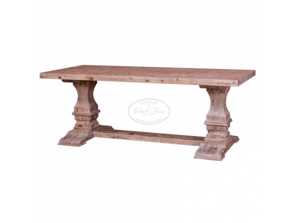 Dřevěný jídelní stůl RUSTIC PS-576