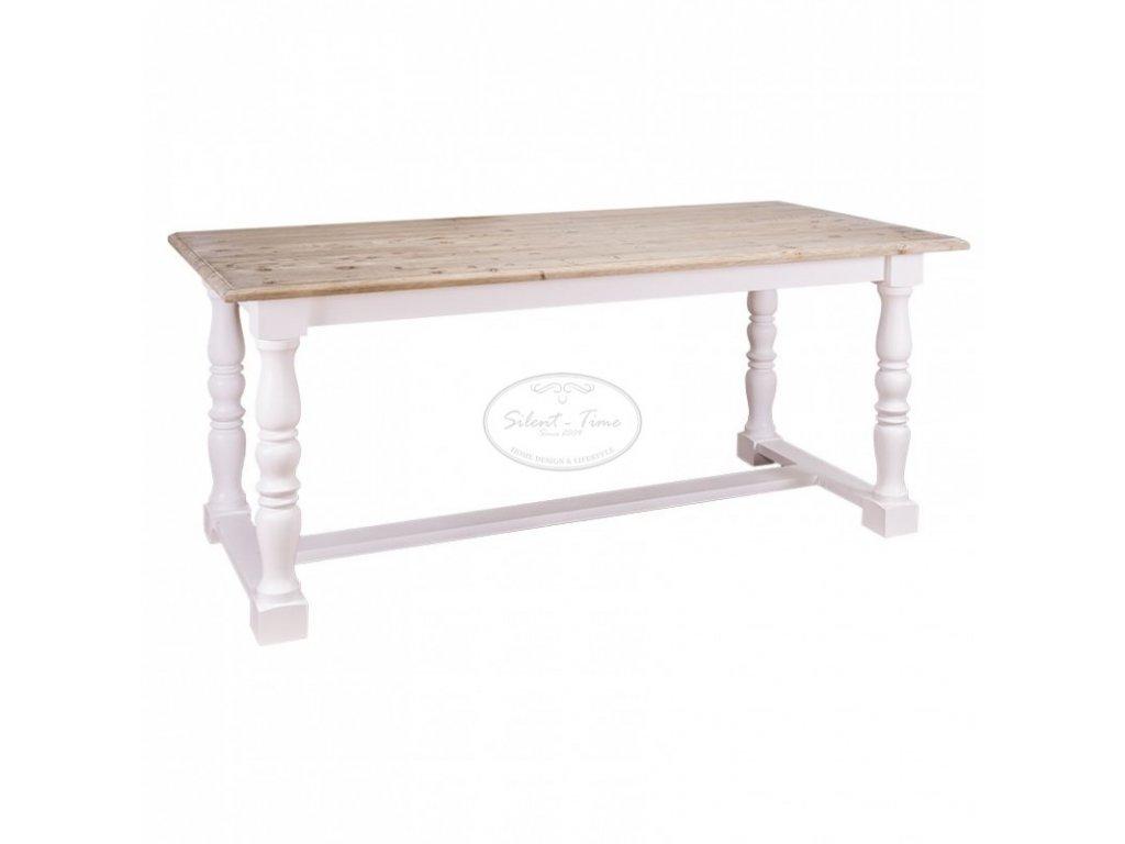 Dřevěný jídelní stůl FARMHOUSE PS-581