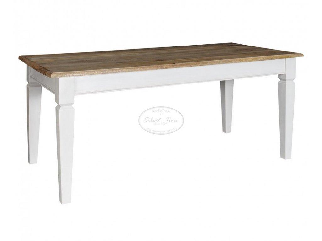 Jídelní stůl BRISTOL WHITE BIG