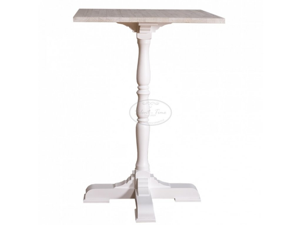 Dřevěný barový stůl hranatý PS-674
