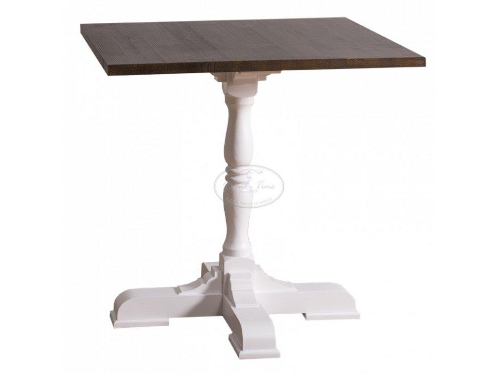 Dřevěný jídelní stůl čvercový PS-675