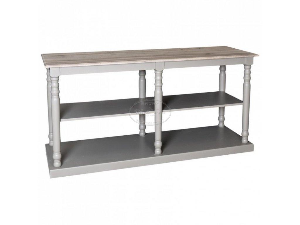 Konzolový stolek dřevěný PS-74
