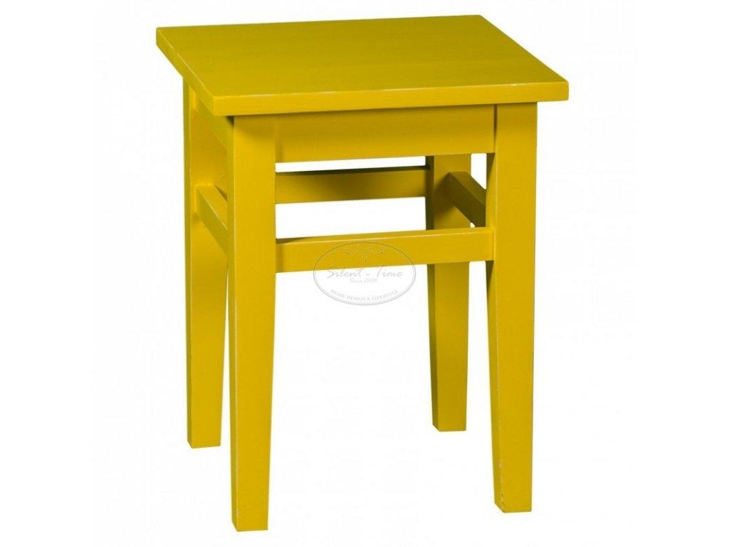 Židle dřevěná bez opěrky PS-83