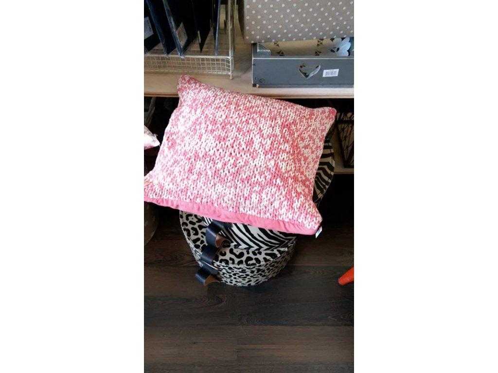 Povlak na polštář pletený Léto