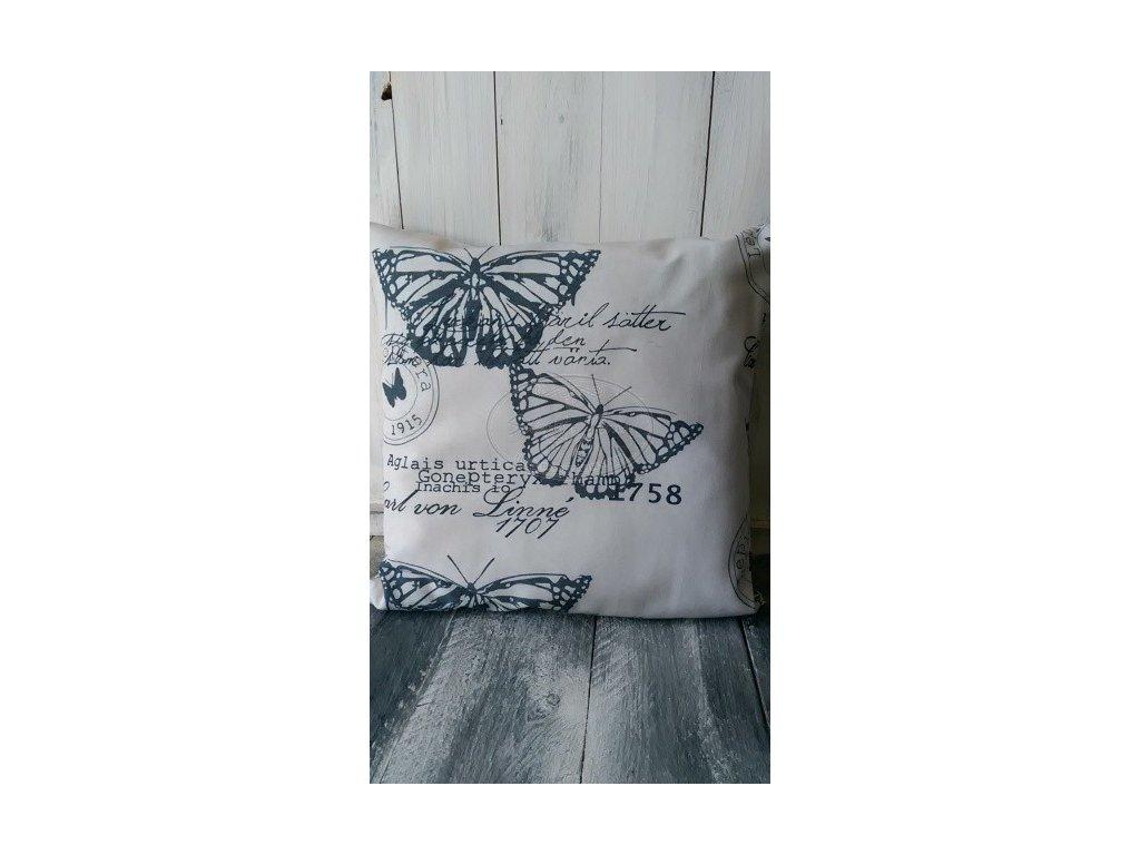 Povlak na polštář Motýli