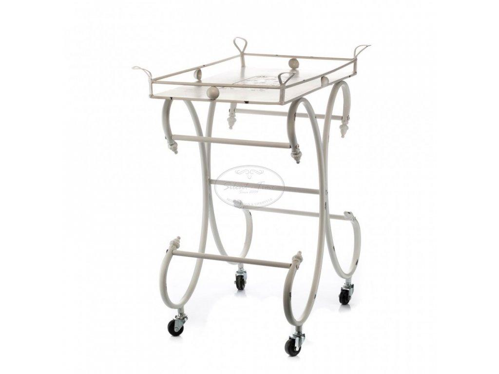 Kovový stolek pojízdný MOBI