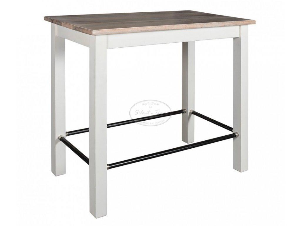 Barový stolek BRISTOL WHITE