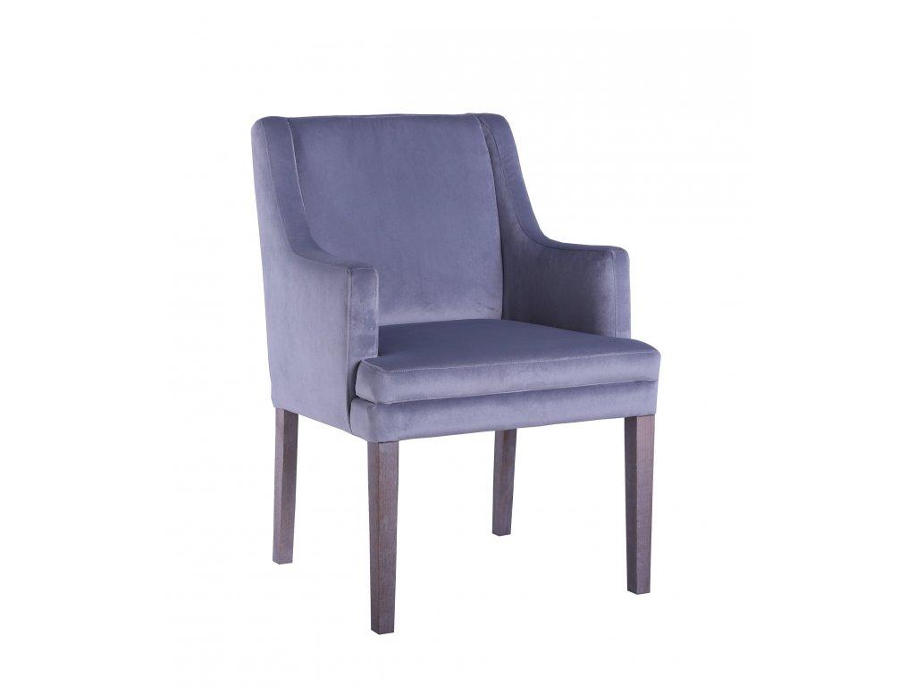 Židle kožená FLEXI s područkami NC01-A2
