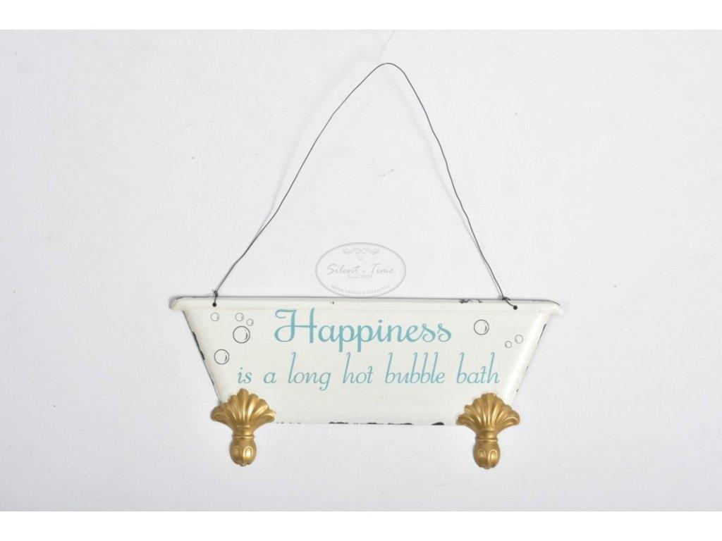 Cedulka HAPPINESS vana