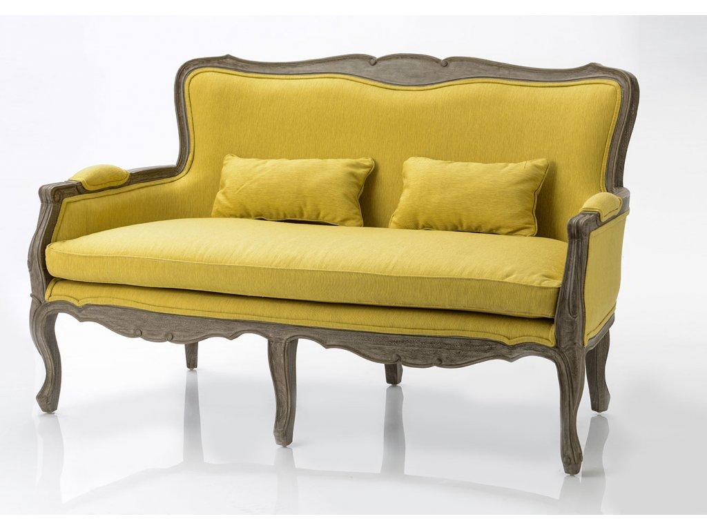 Stylové sofa zámecké JAUNE