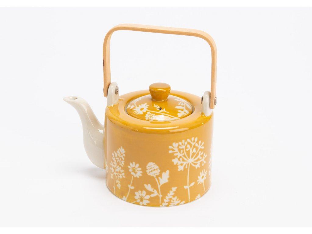 Čajová konvička  SUREAU žlutá