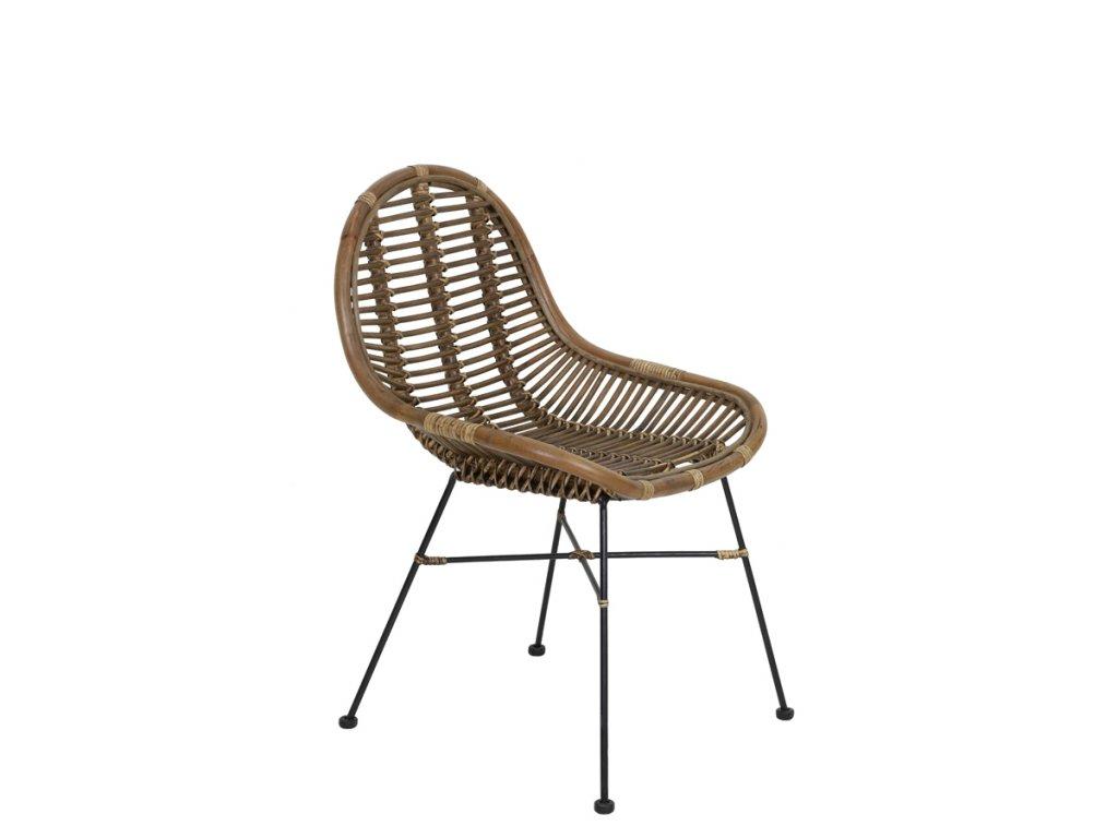 Proutěná židle BOGOR RATTAN přírodní